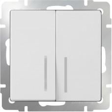 Выключатель  WL01-SW-2G-LED
