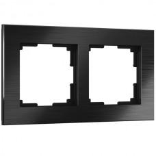 Рамка Aluminium черный алюминий W0021708
